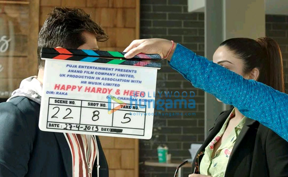 On The Sets From The Movie Happy Hardy & Heer