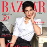 Jackie, Oh! Jacqueline Fernandez shines in monochrome avatar on the cover of Harper's Bazaar India
