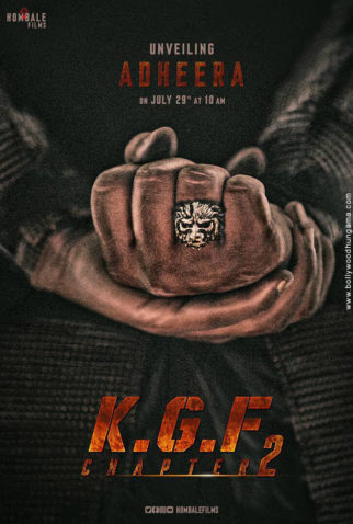 First Look Of The Movie K.G.F - Chapter 2