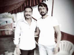 Kiccha Sudeep meets Bollywood's Singham Ajay Devgn