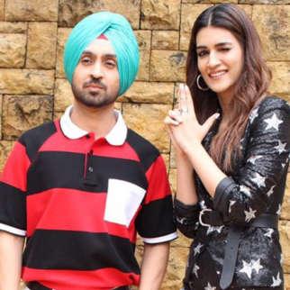Kriti Sanon & Diljit Dosanjh spotted promoting their upcoming Film Arjun Patiala