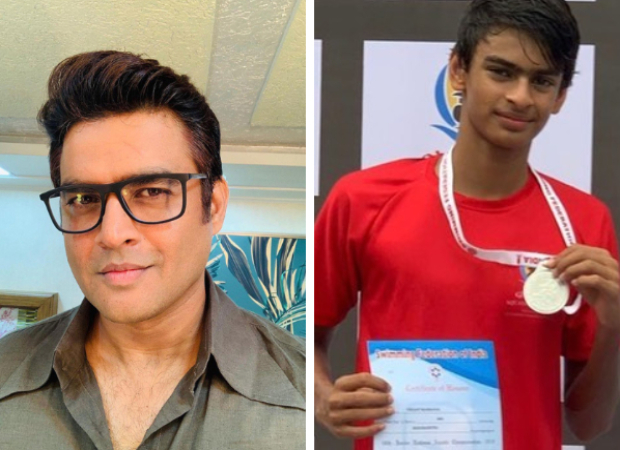 R Madhavan is a proud parent as his son Vedant wins a gold medal in swimming!