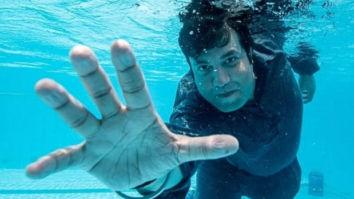 PHOTOS: Varun Sharma shares underwater glimpses from Kriti Sanon and Diljit Dosanjh starrer Arjun Patiala!