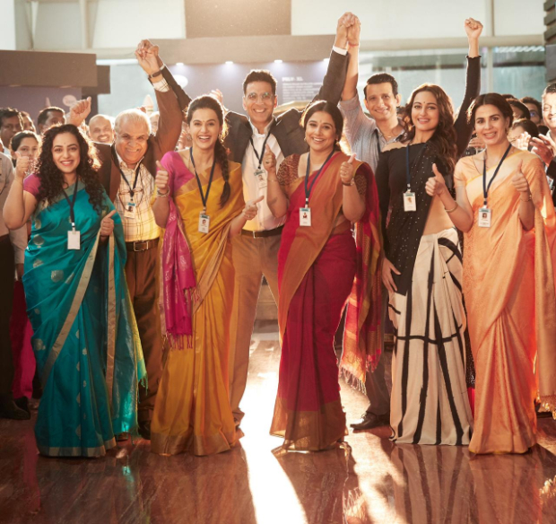 PHOTO: Mission Mangal team celebrates the power of the women scientists
