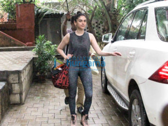 Photos: Aditi Rao Hydari and Parineeti Chopra spotted at the gym