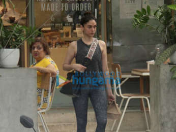 Photos: Amyra Dastur and Aditi Rao Hydari spotted at the Kitchen Garden in Bandra