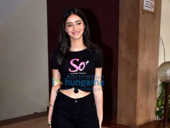 Photos: Ananya Panday spotted at the Kwan office in Andheri
