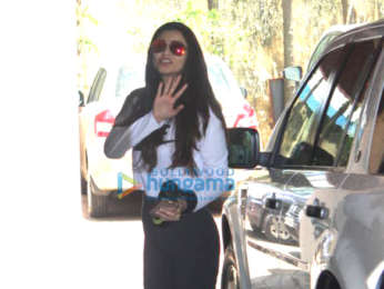 Photos: Daisy Shah spotted at the Pilates gym