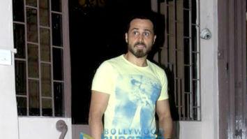 Photos: Emraan Hashmi spotted at Shankar Mahadevan's studio