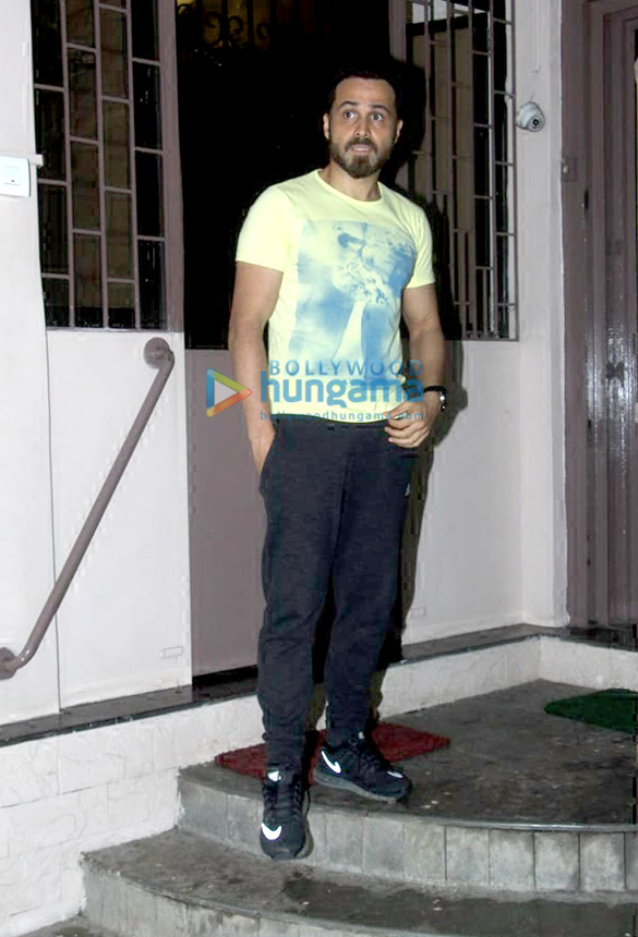 Photos: Emraan Hashmi spotted at Shankar Mahadevan's studio