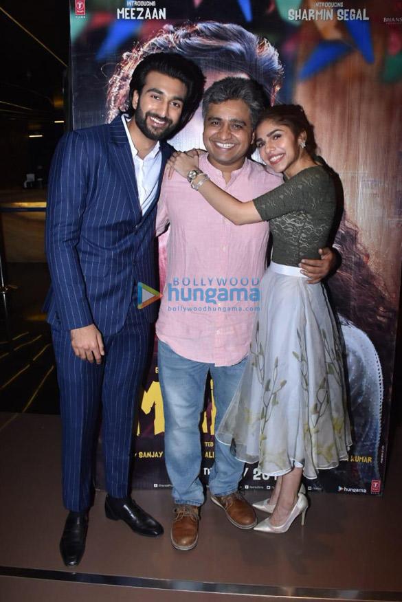 Photos Meezaan Jaffrey and Sharmin Segal grace the special screening of 'Malaal′ (1)