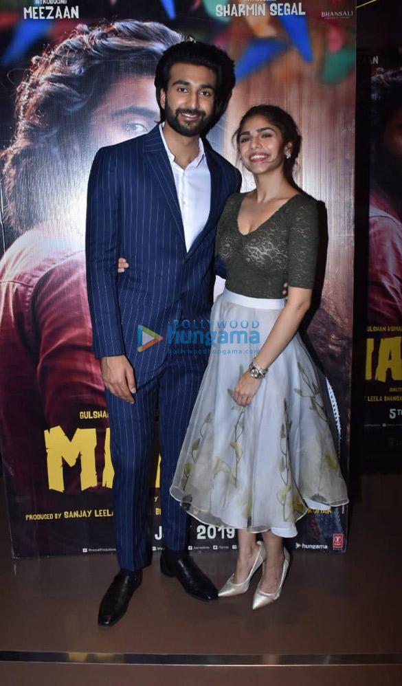 Photos Meezaan Jaffrey and Sharmin Segal grace the special screening of 'Malaal′ (2)