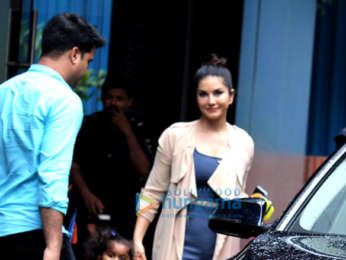 Photos: Sunny Leone spotted with her kids in Juhu