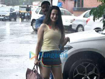 Photos: Taapsee Pannu and Ameesha Patel snapped at Kromakay salon in Juhu