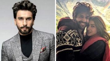 Ranveer Singh teases Love Aaj Kal 2 pair Kartik Aaryan and Sara Ali Khan