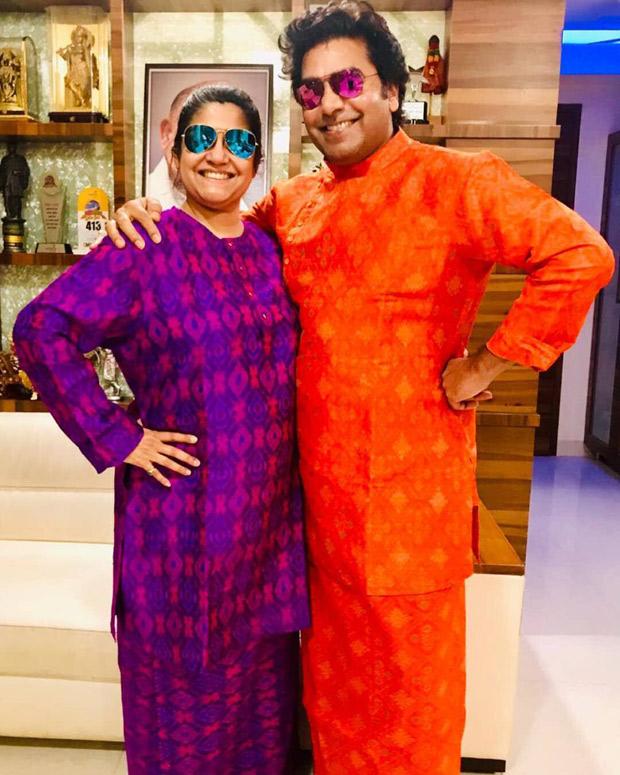 Renuka Shahane and Ashutosh Rana's 'Thalaiva' avatars are giving us major couple goals