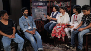SUPER FUN Interview Team Typewriter Purab Kohli, Sujoy Ghosh & Adorable Kids