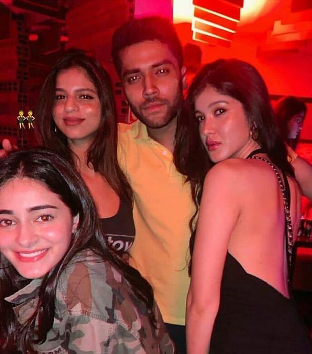 Suhana Khan parties with besties Ananya Panday and Shanaya Kapoor as she lands in Mumbai! [See photo]
