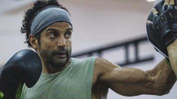 TOOFAN MODE ON! Farhan Akhtar is creating a huge storm with his intense prep