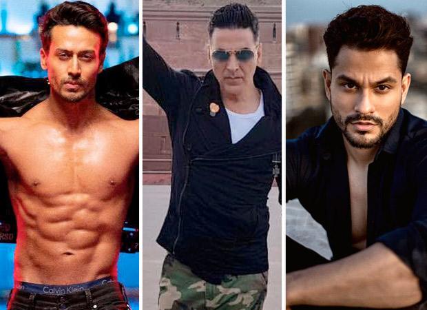 Tiger Shroff, Kunal Khemmu and Sherlyn Chopra follow in Akshay Kumar's footsteps and take the Bottle Cap Challenge