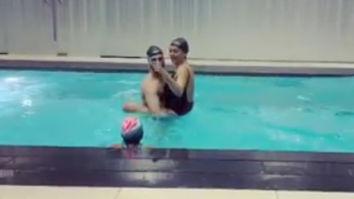 VIDEOS: Sushmita Sen and boyfriend Rohman Shawl enjoy during a pool day with her kids