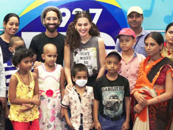 WATCH Taapsee Pannu met children battling Cancer at Radio Station