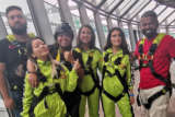 WHOA Fatima Sana Shaikh Goes for A Skywalk in Macao Macao Tower