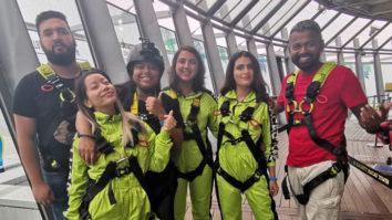 WHOA Fatima Sana Shaikh Goes for A Skywalk in Macao Macao Tower