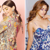 What's Your Pick A splash of colors with Sonam Kapoor Ahuja in Anamika Khanna or a true blue treat with Disha Patani in Ritu Kumar