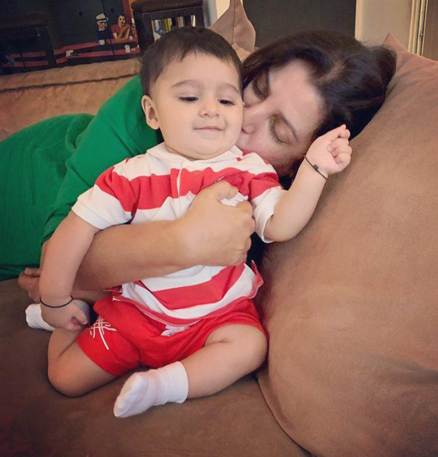 Farah Khan bonds with Sania Mirza's son Izhaan and the photo is super cute!