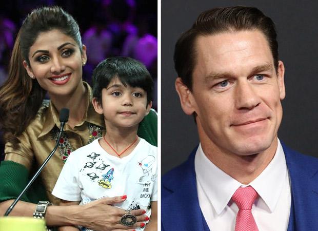 Shilpa Shetty Kundra's son Viaan Raj Kundra has found a fan in WWE legend John Cena!