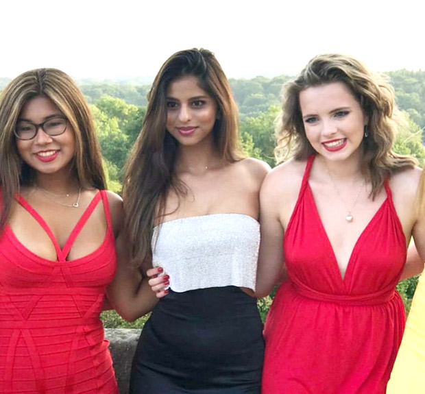 Suhana Khan looks stunning as she shines in this bodyfit outfit at her graduation party with friends!
