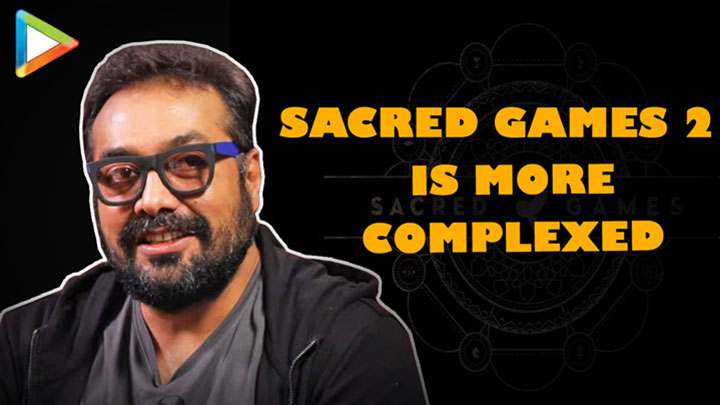 """I Wanted Ram Gopal Verma To Play Role So I…"" Anurag KashaypSacred Games 2 Neeraj G"