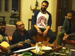 Aamir Khan and Pritam along with team Lal Singh Chaddha work together in Panchgani