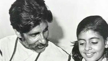 Abhishek Bachchan shares a heartwarming picture for Amitabh Bachchan's second birthday!