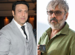 After Avatar, Govinda claims he was offered Chunni Lal's role in Sanjay Leela Bhansali's Devdas