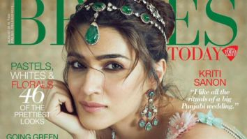 Kriti Sanon On The Covers Of Brides Today