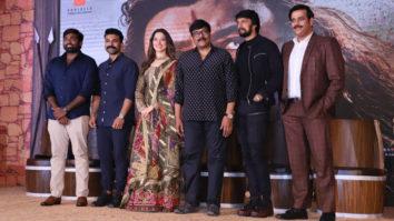 Celebs grace the trailer launch of Syeraa Narasimha Reddy Part 1