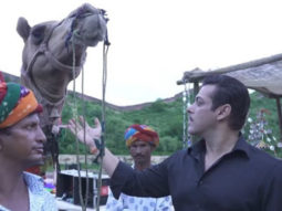 Dabangg 3: 'Chubul Pandey' Salman Khan spends time with Sultan in Rajasthan