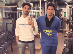 From co-stars to gym buddies, Varun Dhawan and Aparshakti Khurrana have got their swag on in this selfie
