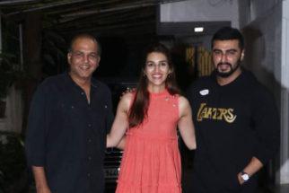 Kriti Sanon & Arjun Kapoor spotted at Sunny Super Sound