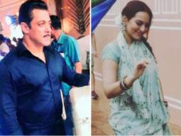 LEAKED PHOTOS & VIDEOS: Dabangg 3 stars Salman Khan and Sonakshi Sinha shoot in Rajasthan despite heavy rains