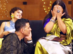 LOL Vidya Balan CRIES while giving VICTORY Speech Akshay Kumar's FUNNIEST Reaction Mission Mangal