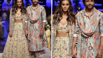 Lakme Fashion Week Winter/Festive 2019: Farhan Akhtar and Shibani Dandekar make a stunning pair as showstoppers for Payal Singhal