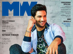 Sushant Singh Rajput on the cover of Man's World, Aug 2019