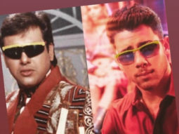 Nick Jonas has an epic reaction when compared to Govinda