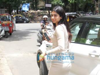 Photos: Ishaan Khatter And Khushi Kapoor spotted Manish Malhotra's office in Bandra
