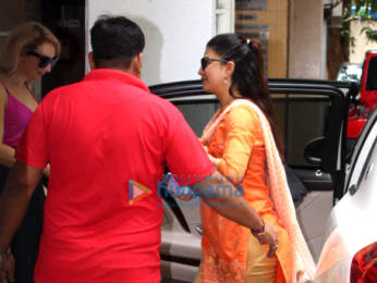 Photos: Jacqueline Fernandez snapped at clinic in Bandra