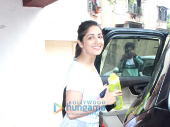 Photos: Malaika Arora, Rhea Chakraborty and others spotted after their Pilates session