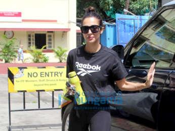 Photos: Malaika Arora snapped at I Think Fitness